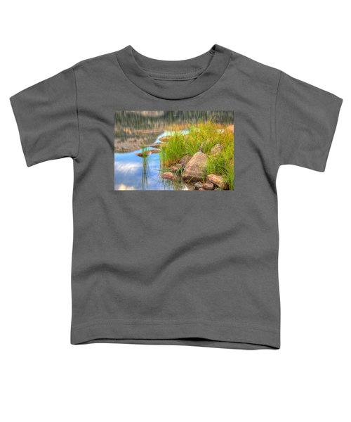 Toddler T-Shirt featuring the photograph Uinta Reflections by Dustin  LeFevre
