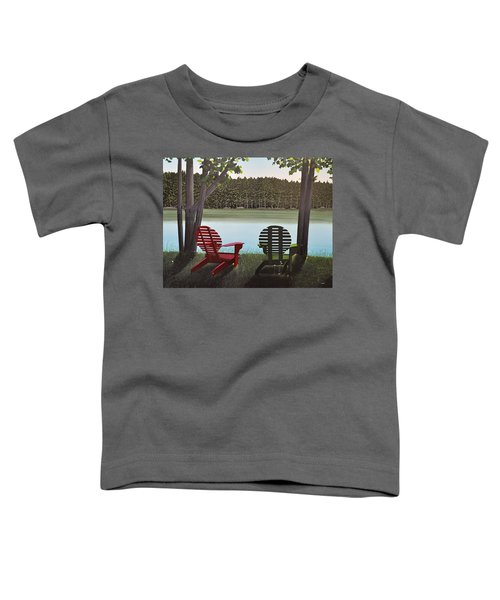 Under Muskoka Trees Toddler T-Shirt