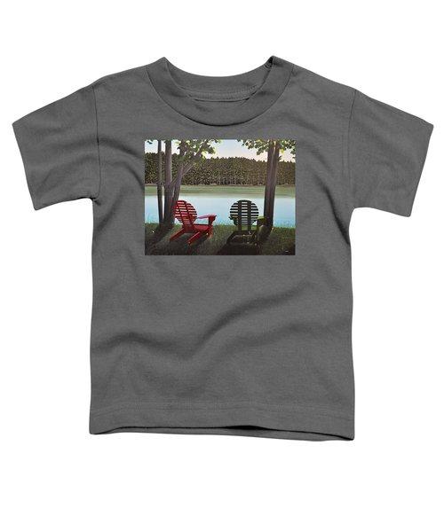 Under Muskoka Trees Toddler T-Shirt