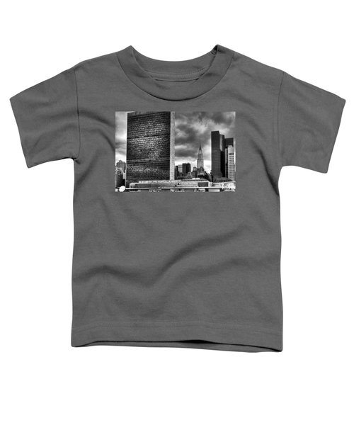 United Nations And Chrysler Building Toddler T-Shirt