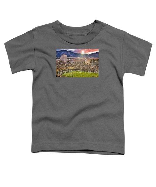 University Of Colorado Boulder Go Buffs Toddler T-Shirt