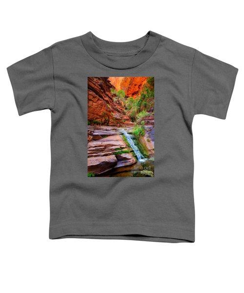 Upper Elves Chasm Cascade Toddler T-Shirt