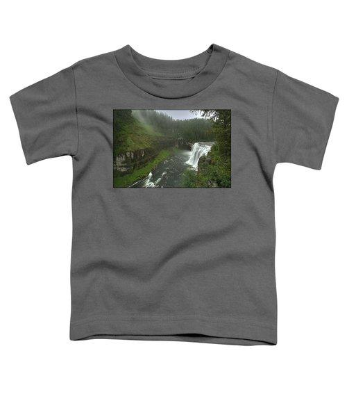 Upper Messa Falls Toddler T-Shirt