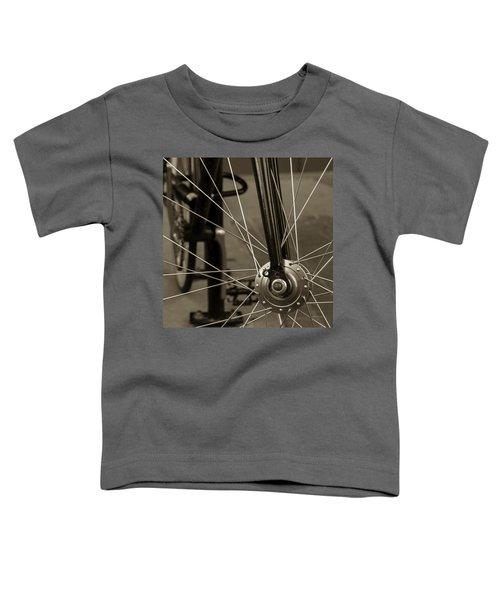 Urban Spokes In Sepia Toddler T-Shirt