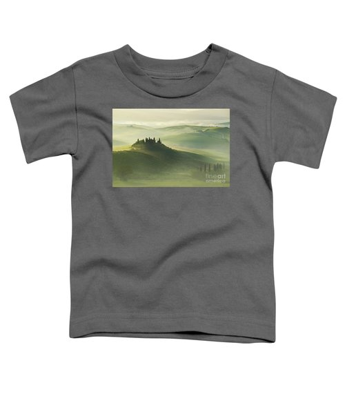 Toddler T-Shirt featuring the photograph Val D'orcia by Jaroslaw Blaminsky