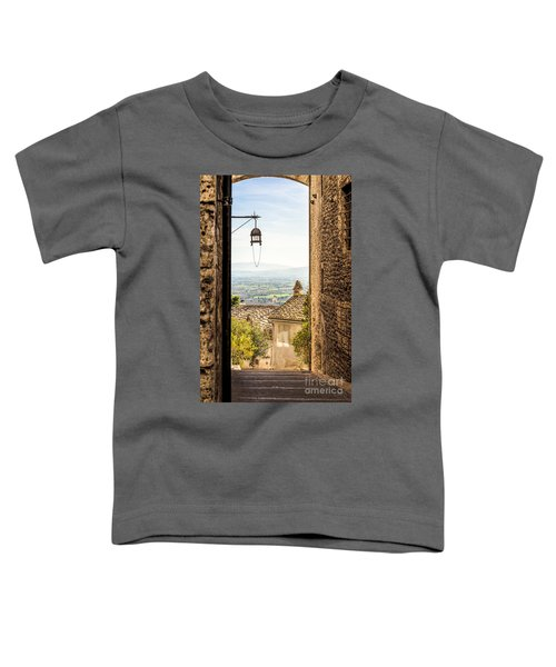 Valley Outside Assisi Toddler T-Shirt