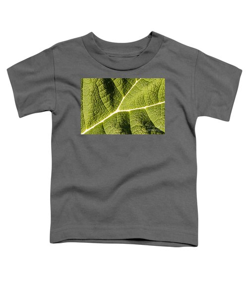 Veins Of A Leaf Toddler T-Shirt