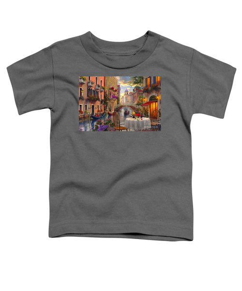 Venice Al Fresco Toddler T-Shirt
