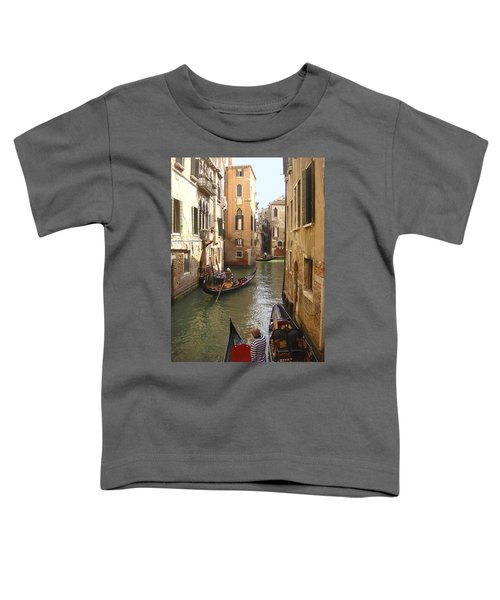Venice Gondolas Toddler T-Shirt