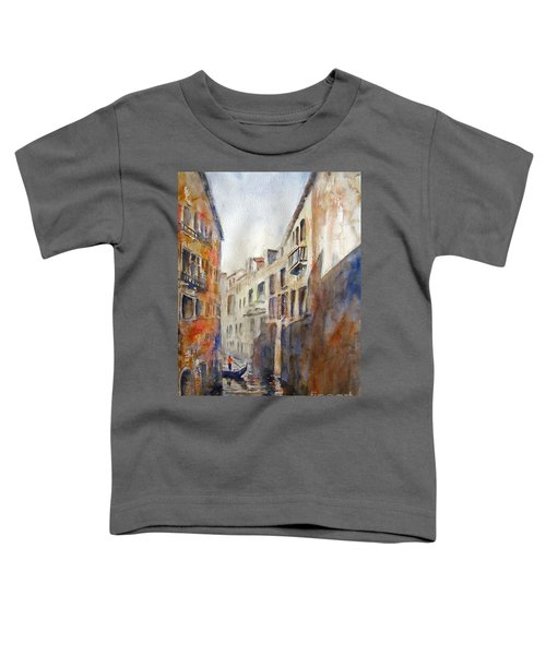 Venice Travelling Toddler T-Shirt