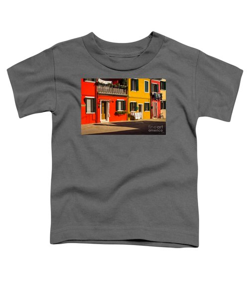 Vibrant Burano Toddler T-Shirt
