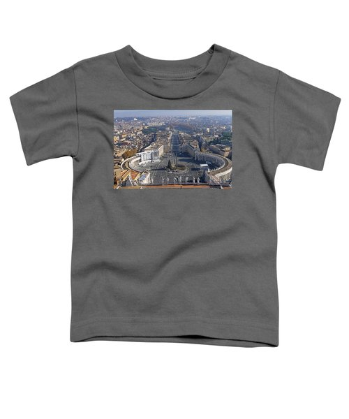 View From Dome Of St Peters Toddler T-Shirt