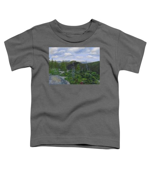 View From Noon Peak Toddler T-Shirt