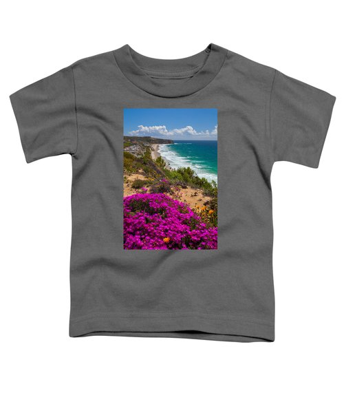View Of Strand Beach And Dana Point Headland Toddler T-Shirt