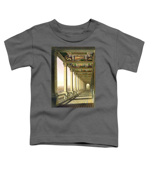 View Of The Third Floor Loggia Toddler T-Shirt