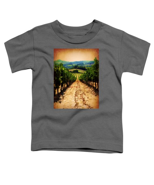 Vigneto Toscana Toddler T-Shirt