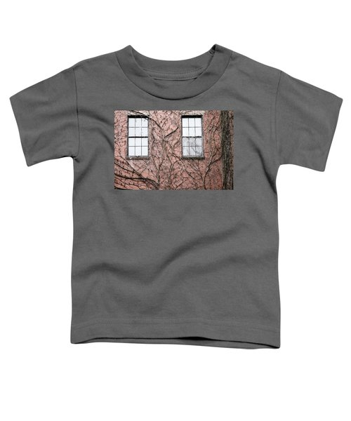 Vines And Brick Toddler T-Shirt