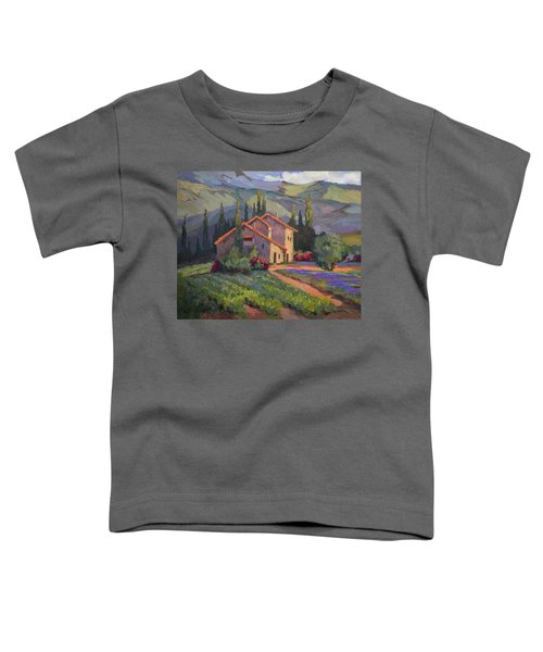 Vineyard And Lavender In Provence Toddler T-Shirt