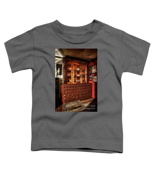 Vintage Apothecary Case Toddler T-Shirt