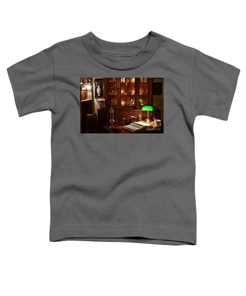 Vintage Apothecary Shop Toddler T-Shirt