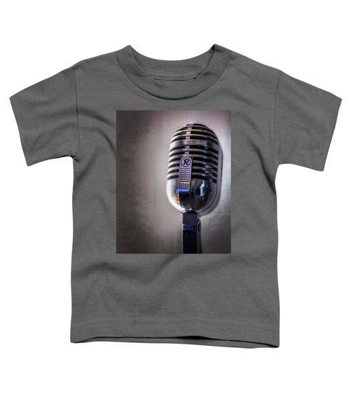 Vintage Microphone 2 Toddler T-Shirt