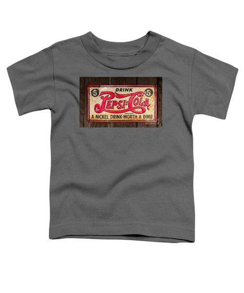 Vintage Pepsi Cola Ad Toddler T-Shirt