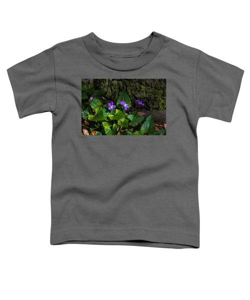 Violets Toddler T-Shirt