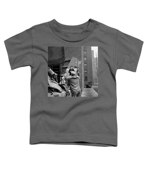 Vivian Maier Self Portrait Probably Taken In Chicago Illinois 1955 Toddler T-Shirt