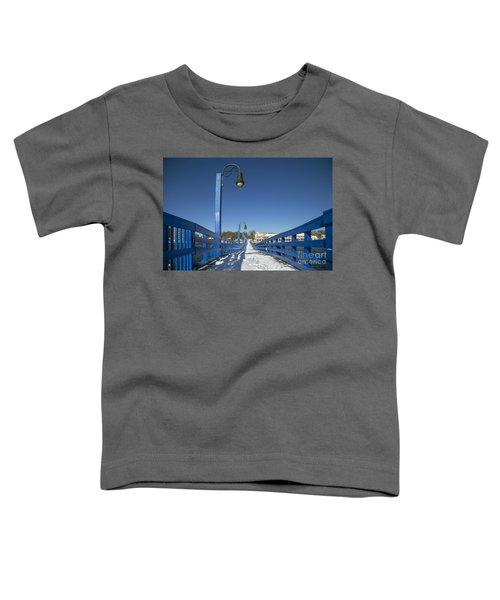 Walk In The Blue Light Toddler T-Shirt