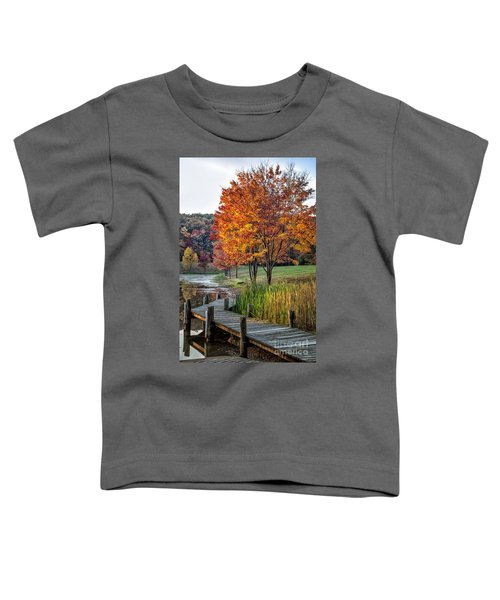 Walk Into Fall Toddler T-Shirt