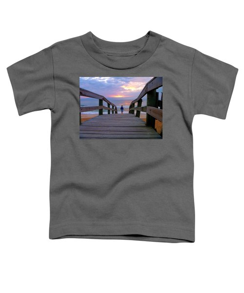 Walking Into Paradise Toddler T-Shirt