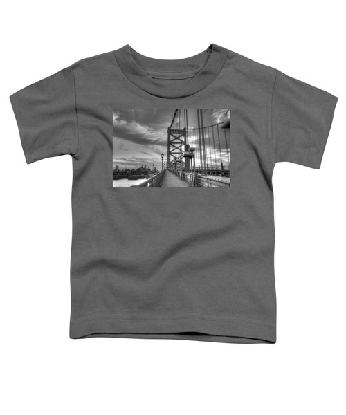 Walking To Philadelphia Toddler T-Shirt