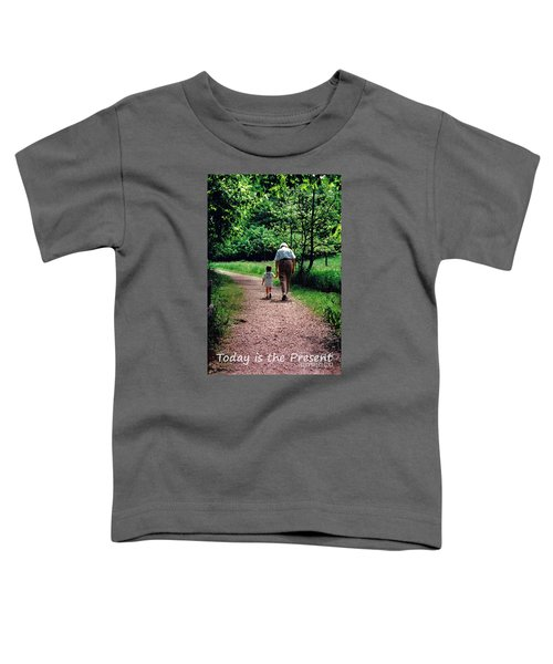 Walking With Grandma Toddler T-Shirt