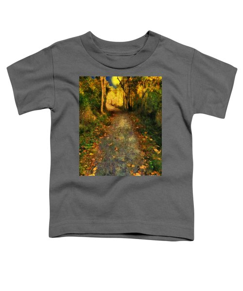 Washed In Gold Toddler T-Shirt