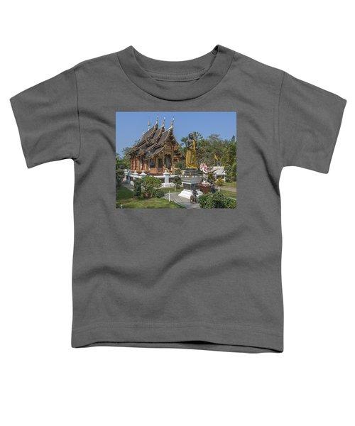 Wat Chedi Liem Phra Ubosot Dthcm0831 Toddler T-Shirt