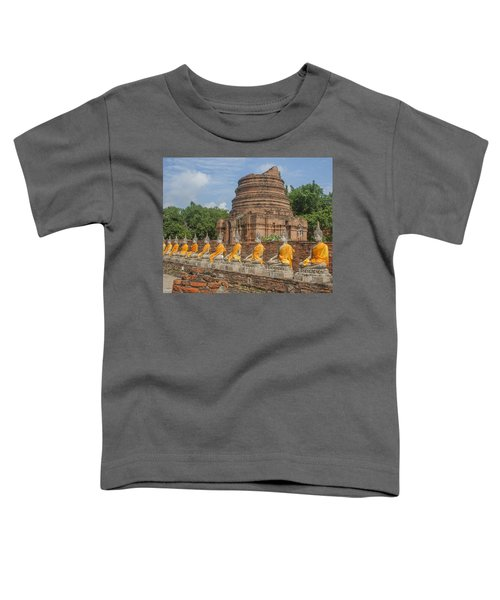 Wat Phra Chao Phya-thai Buddha Images And Ruined Chedi Dtha005 Toddler T-Shirt