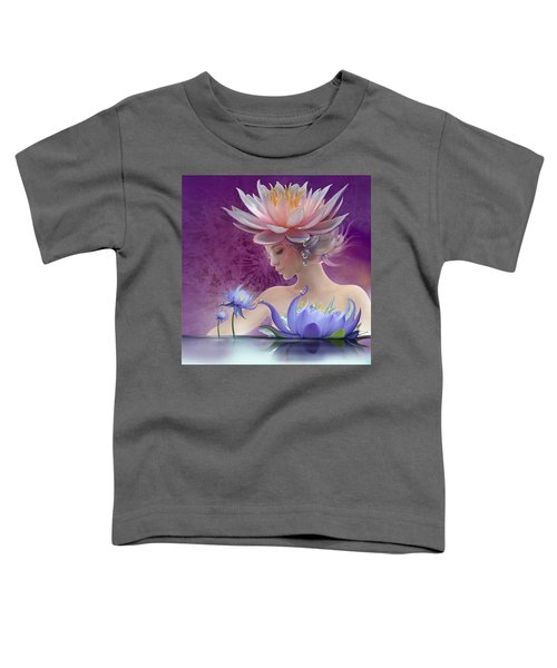 Water Of Life - In Violet Toddler T-Shirt