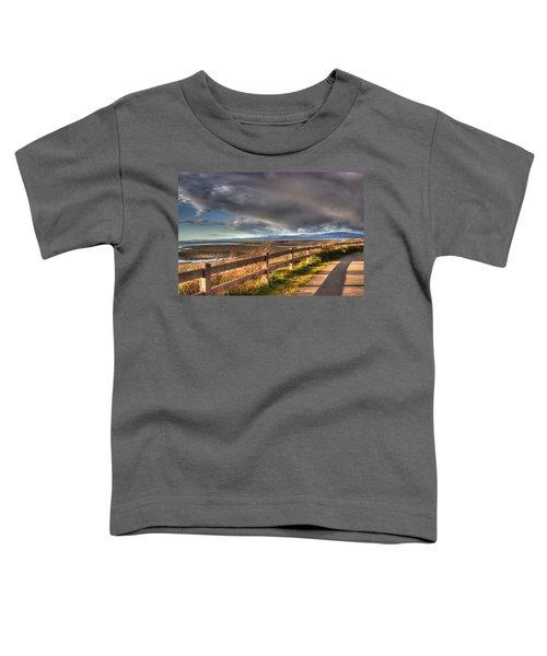 Waterfront Walkway Toddler T-Shirt