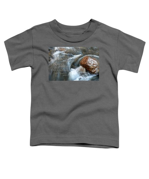 Waters In The Wilderness Toddler T-Shirt