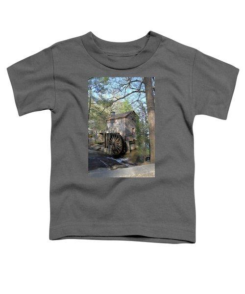 Waterwheel At Stone Mountain Toddler T-Shirt