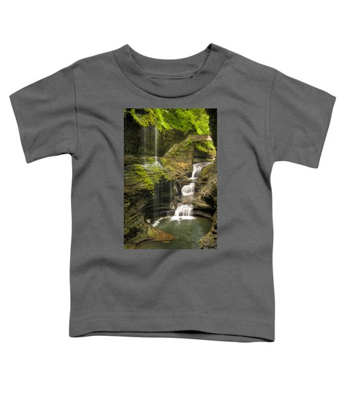 Watkins Glen Rainbow Falls Toddler T-Shirt