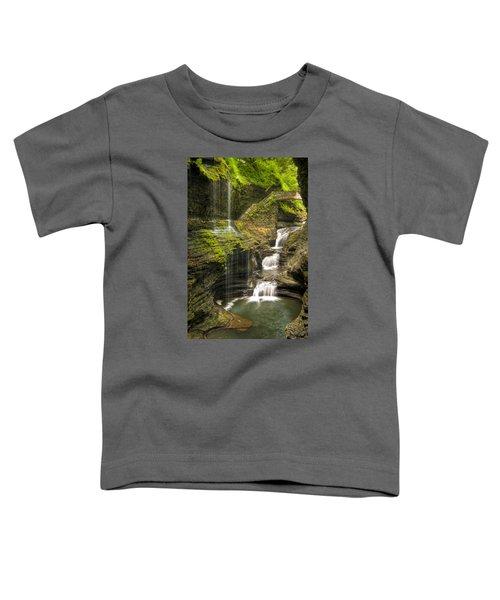 Watkins Glen Rainbow Falls Toddler T-Shirt