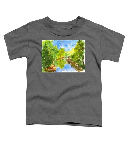 Weber River Reflection Toddler T-Shirt