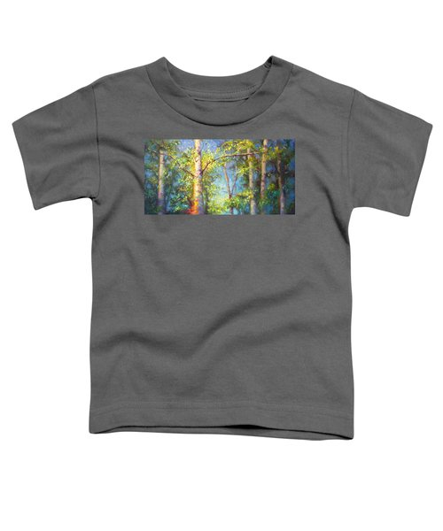 Welcome Home - Birch And Aspen Trees Toddler T-Shirt