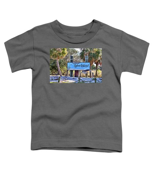 Welcome To Tybee Toddler T-Shirt
