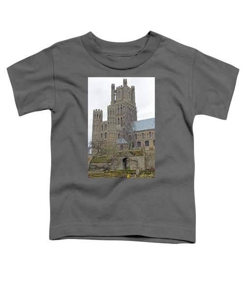 West Tower Of Ely Cathedral  Toddler T-Shirt