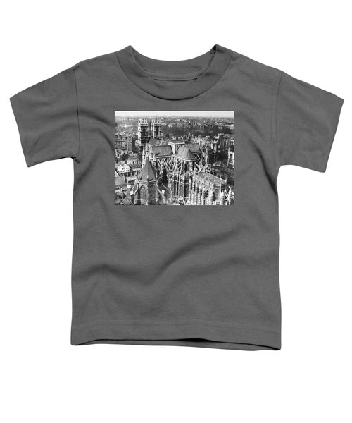 Westminster Abbey In London Toddler T-Shirt by Underwood Archives