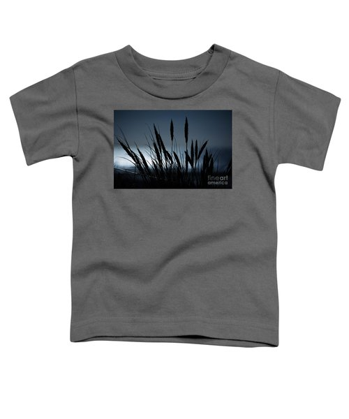 Wheat Stalks On A Dune At Moonlight Toddler T-Shirt