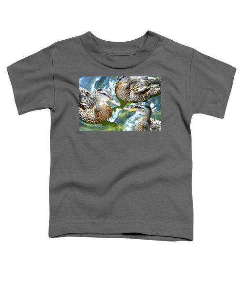 When Duck Bills Meet Toddler T-Shirt