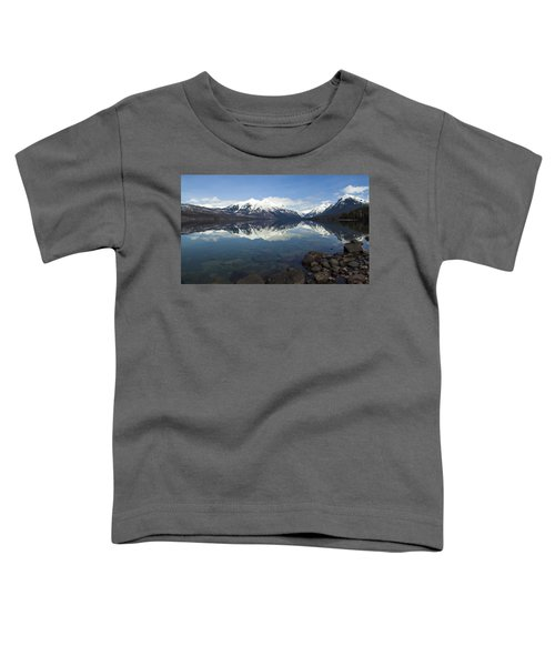 When The Sun Shines On Glacier National Park Toddler T-Shirt
